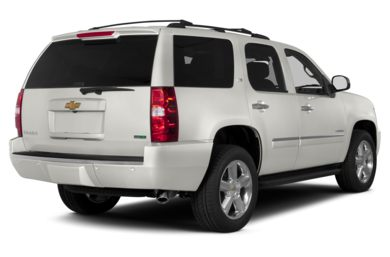 3/4 Rear Glamour  2014 Chevrolet Tahoe