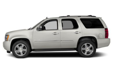 90 Degree Profile 2014 Chevrolet Tahoe