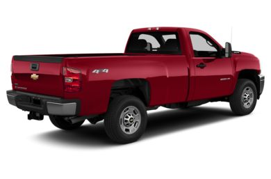 3/4 Rear Glamour  2014 Chevrolet Silverado 2500HD