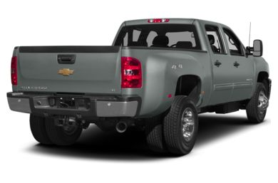 3/4 Rear Glamour  2014 Chevrolet Silverado 3500HD
