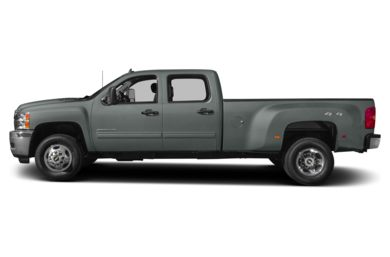 90 Degree Profile 2014 Chevrolet Silverado 3500HD