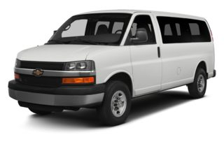3/4 Front Glamour 2014 Chevrolet Express 2500