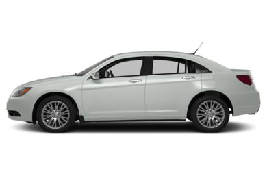 90 Degree Profile 2014 Chrysler 200