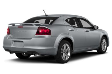 3/4 Rear Glamour  2014 Dodge Avenger
