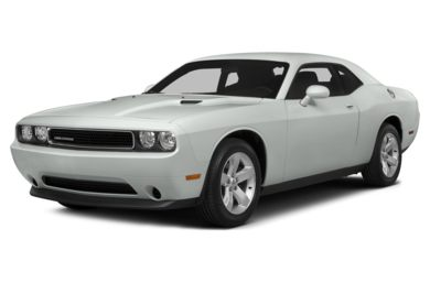 3/4 Front Glamour 2014 Dodge Challenger