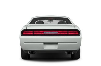 Rear Profile  2014 Dodge Challenger