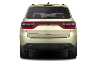 Rear Profile  2014 Dodge Durango