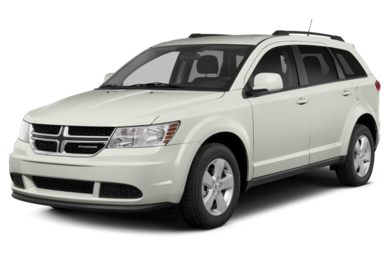 3/4 Front Glamour 2014 Dodge Journey