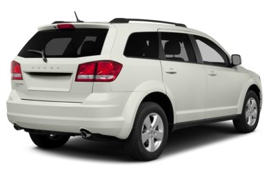 3/4 Rear Glamour  2014 Dodge Journey