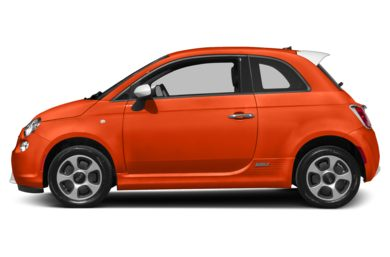 90 Degree Profile 2016 FIAT 500e