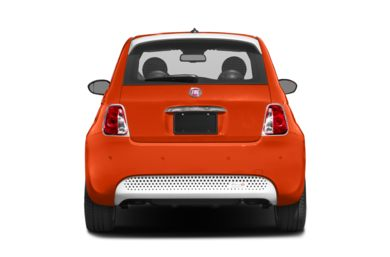 Rear Profile  2017 FIAT 500e