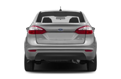 Rear Profile  2014 Ford Fiesta