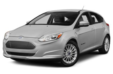 3/4 Front Glamour 2014 Ford Focus Electric
