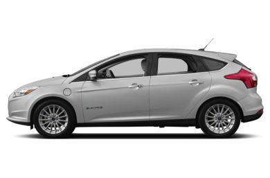 90 Degree Profile 2014 Ford Focus Electric
