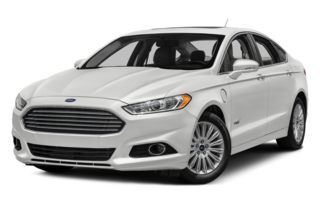 3/4 Front Glamour 2014 Ford Fusion Energi