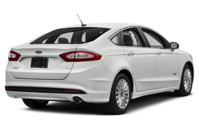 3/4 Rear Glamour  2014 Ford Fusion Energi