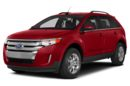 3/4 Front Glamour 2014 Ford Edge