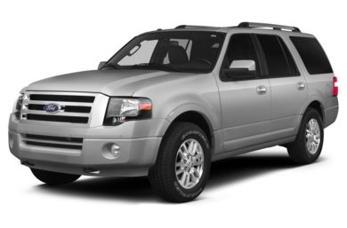 3/4 Front Glamour 2014 Ford Expedition