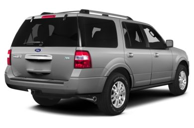 3/4 Rear Glamour  2014 Ford Expedition