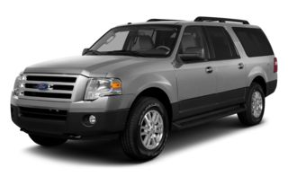 3/4 Front Glamour 2014 Ford Expedition EL