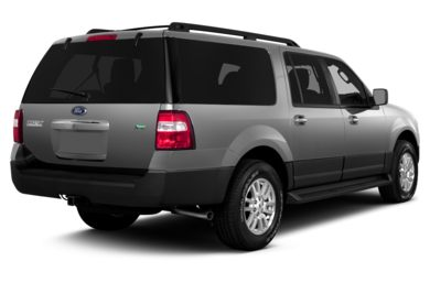 3/4 Rear Glamour  2014 Ford Expedition EL