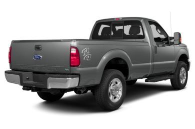 3/4 Rear Glamour  2014 Ford F-250