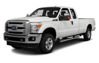 3/4 Front Glamour 2014 Ford F-250