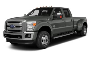 3/4 Front Glamour 2014 Ford F-450