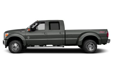 90 Degree Profile 2014 Ford F-450