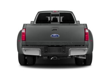 Rear Profile  2014 Ford F-450