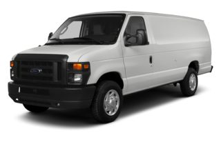 3/4 Front Glamour 2014 Ford E-350 Super Duty