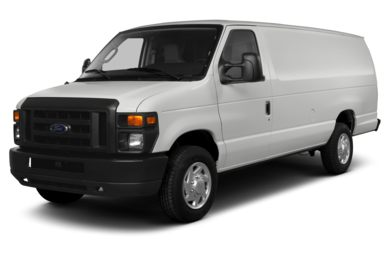 3/4 Front Glamour 2014 Ford E-150