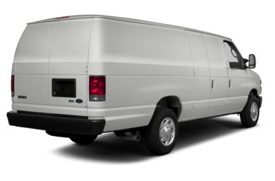 3/4 Rear Glamour  2014 Ford E-250
