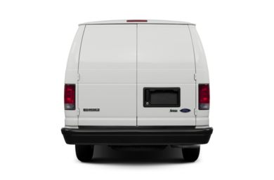 Rear Profile  2014 Ford E-250