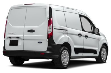 3/4 Rear Glamour  2014 Ford Transit Connect