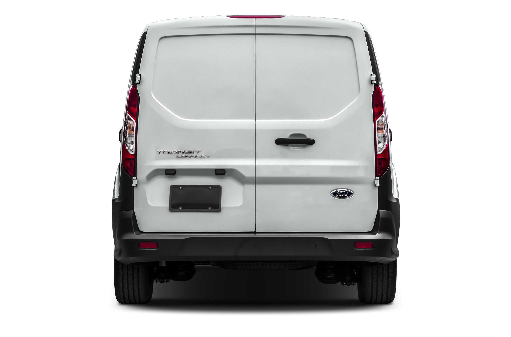Rear Profile  2014 Ford Transit Connect