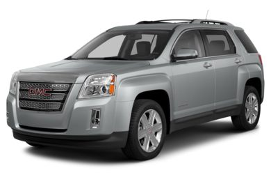 3/4 Front Glamour 2014 GMC Terrain