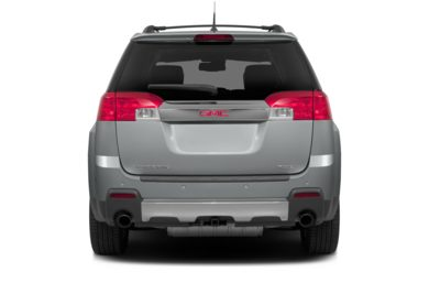 Rear Profile  2014 GMC Terrain