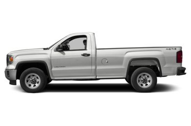 90 Degree Profile 2014 GMC Sierra 1500