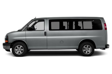 90 Degree Profile 2014 GMC Savana 1500