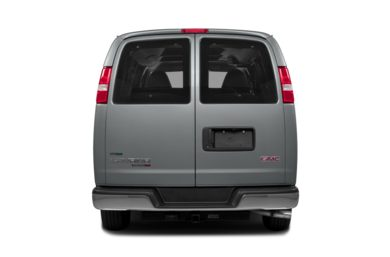 Rear Profile  2014 GMC Savana 3500