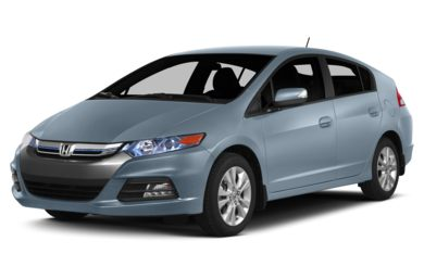 3/4 Front Glamour 2014 Honda Insight