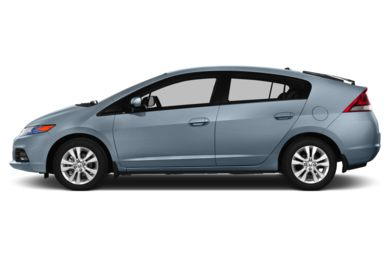 90 Degree Profile 2014 Honda Insight
