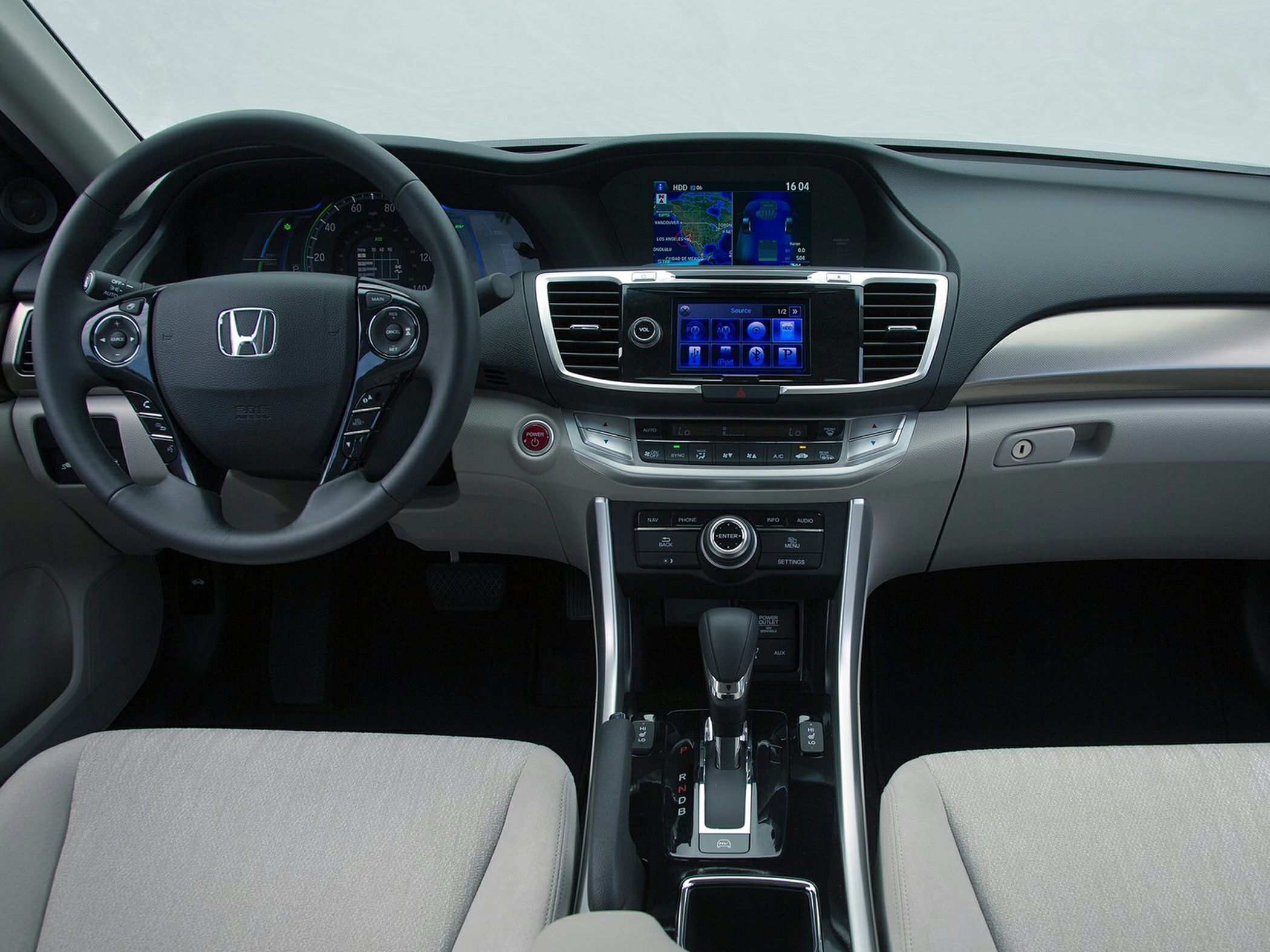 2014 Honda Accord Plug-In Hybrid Interior