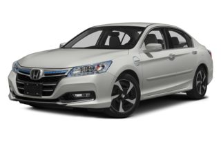 3/4 Front Glamour 2014 Honda Accord Plug-In Hybrid