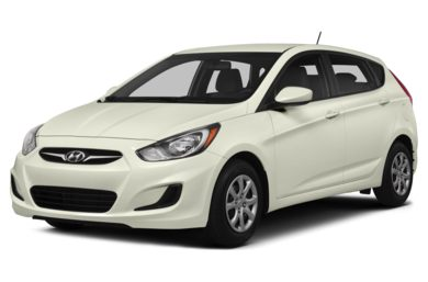 3/4 Front Glamour 2014 Hyundai Accent