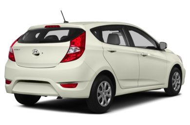 3/4 Rear Glamour  2014 Hyundai Accent