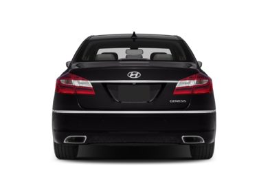 Rear Profile  2014 Hyundai Genesis Sedan