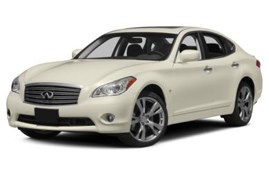 3/4 Front Glamour 2014 Infiniti Q70