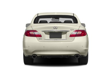 Rear Profile  2014 INFINITI Q70